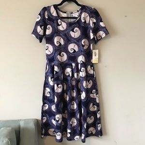 NWT LuLaRoe Disney Spiral Hill Amelia Dress
